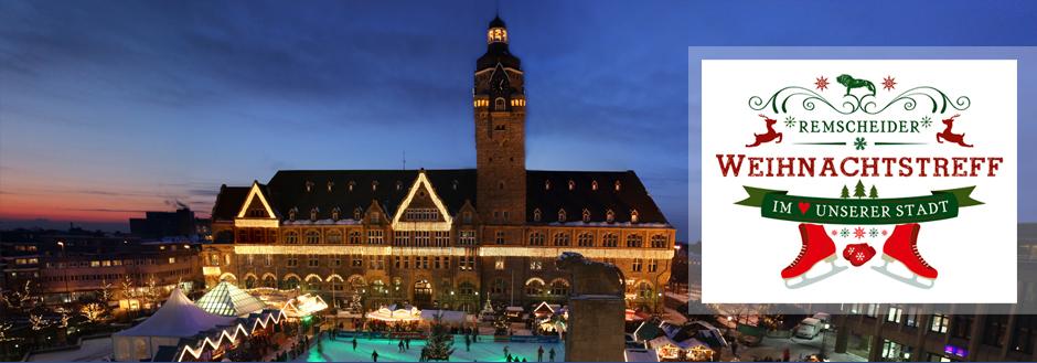 Weihnachtsmarkt Totensonntag Geöffnet.Remscheider Weihnachtstreff Eislaufbahn Gastronomie Programm Und